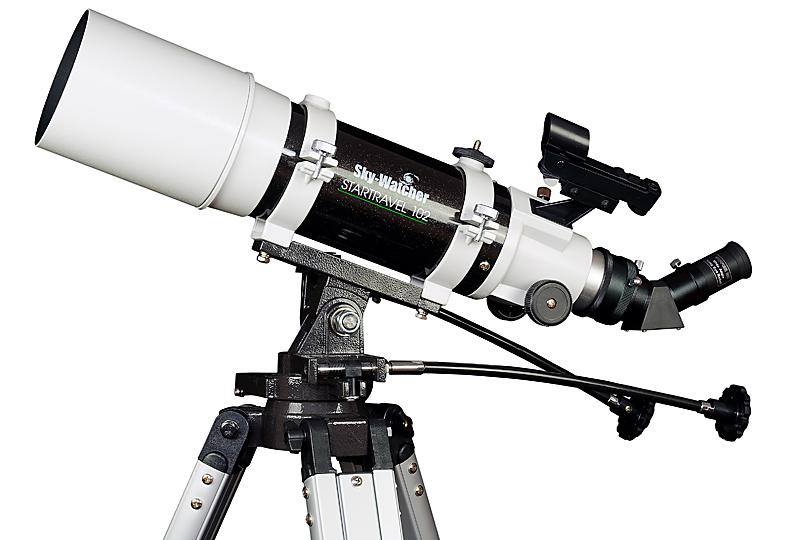 Skywatcher teleskop startravel auf az montierung