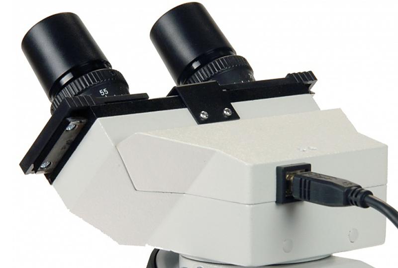 Zenith bvh1 binokularkopf mit kamera für labormikroskop